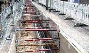 Alumiininen kaivantotuki / tuentajärjestelmä GIGANT