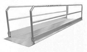 alumiiniset kulkusillat 4 - 6m