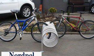 Polkupyöräteline viro pion 250cm
