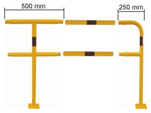 Koottavat suojakaaret Ø 48 mm